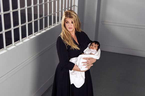 "Kirstie Alley in ""Baby Sellers"" on Lifetime"