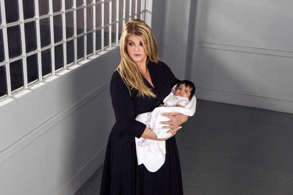 "Kirstie Alley stars in the TV movie ""Baby Sellers"" on Lifetime."