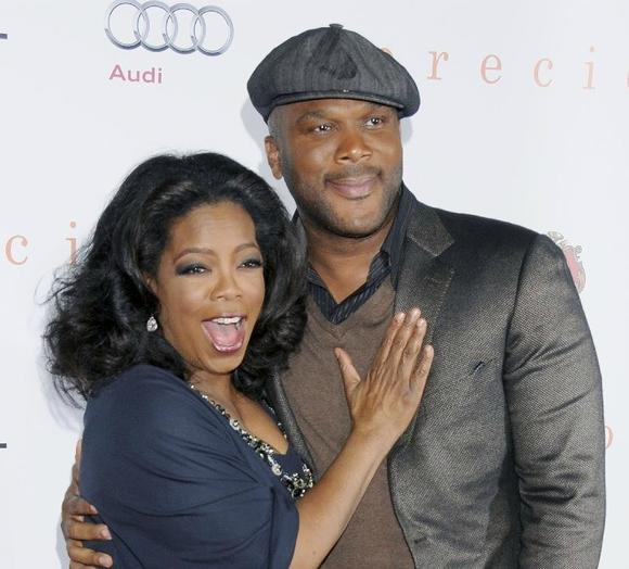 Oprah Winfrey and Tyler Perry