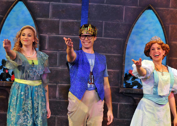 "Orlando Shakespeare Theater's ""Sleeping Beauty"" is the most-attended show in the history of the troupe's Goldman Theater. Jillian Gizzi (from left), Joshua Roth and Morgan Price starred in the summer show."