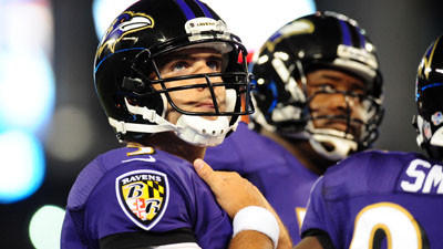 Preseason hasn't been a good start for Joe Flacco