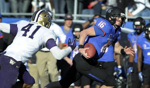 Boise State quarterback Joe Southwick hopes to improve on his uneven 2012 campaign.