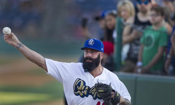 Reliever Brian Wilson could make his Dodgers debut on Sunday against the Philadelphia Phillies.