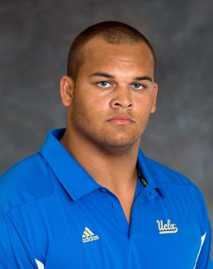 UCLA freshman defensive end Eddie Vanderdoes likely will see extensive playing time for the Bruins this season.