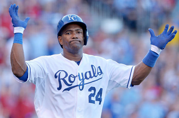 Royals infielder Miguel Tejada won't be playing again this season; he's been suspended 105 games for amphetamines use.