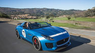 Seen -- and heard at Pebble Beach: Jaguar's Project 7