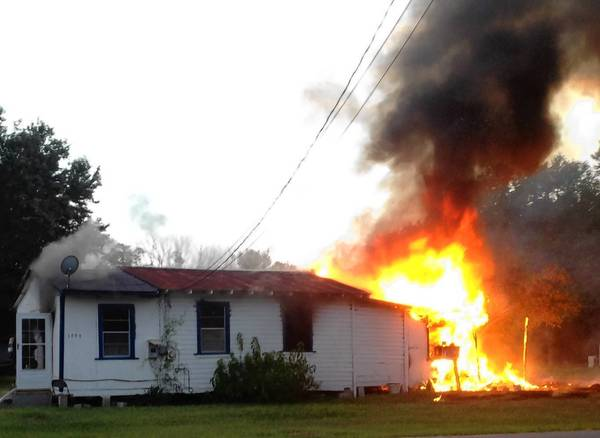 A house fire in the small community of Jamestown near Oviedo on Aug. 11, 2013 killed 2 people and left an elderly woman in critical condition.