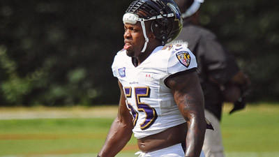 Terrell Suggs is encouraged by the Ravens' development in prese…