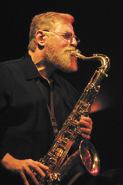 Lew Tabackin, a New York-based jazz musician, plays flute and tenor saxophone.