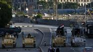 Egyptian military demands end to violence; some rallies stymied