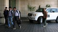 U.N. inspectors in Syria to begin probe into chemical weapons