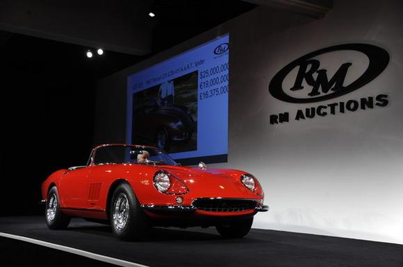 1967 Ferrari 275 GTB/4*S N.A.R.T. Spider
