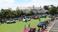 Highlights of the Concept Lawn at Pebble Beach Concours d'Elegance