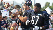 Bears rolling dice with rookie linemen