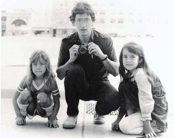 John Walker in 1983 with his daughters Lannie, left, and Keely in Minneapolis. Two years later, Walker was tortured to death in Mexico by drug lord Rafael Caro Quintero's gang, which apparently mistook him for a drug agent. He and his wife had moved their family to Guadalajara so he could work on a novel.