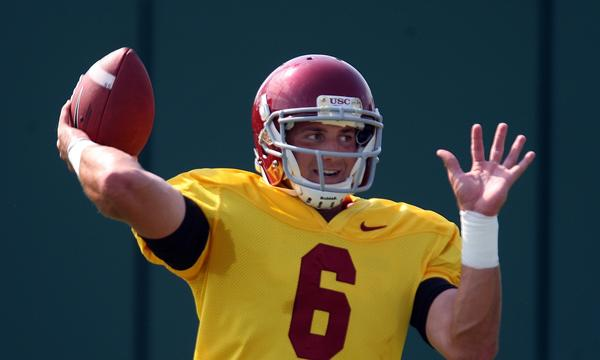 USC quarterback Cody Kessler put on another strong performance in Sunday night's practice session.
