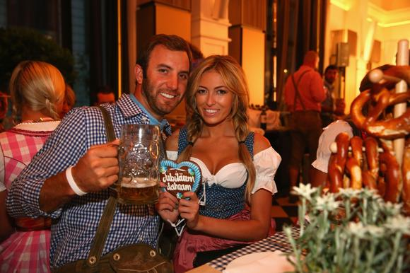 Dustin Johnson, Paulina Gretzky