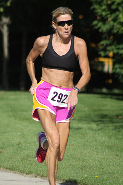 Sue Parks of Ypsilanti was the female overall winner Saturday at the Petoskey Festival by the Bay Wellness 5K run as she finished in 21 minutes, 27 seconds.