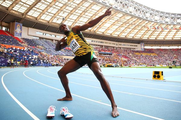 Jamaican sprinter Usain Bolt said he wasn't used to running in front of the rows of empty seats he saw in Moscow for the track and field world championships this month.