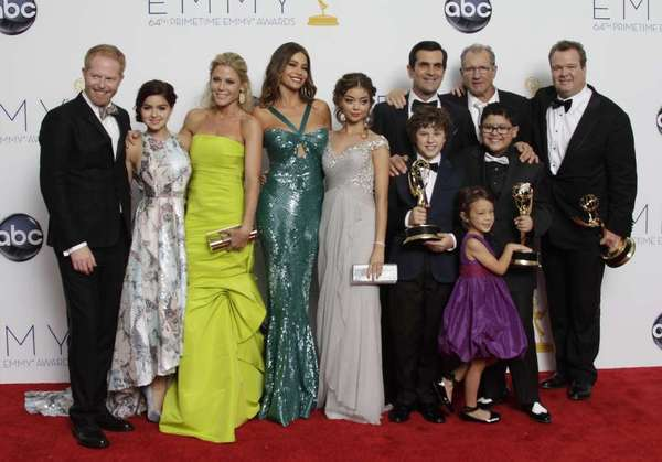 """""""Modern Family"""" won its third straight Emmy for comedy series last year. Is a fourth in the offing?"""