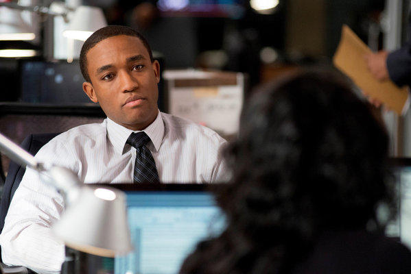 "Lee Thompson Young as Detective Barry Frost in the TV series ""Rizzoli & Isles."""