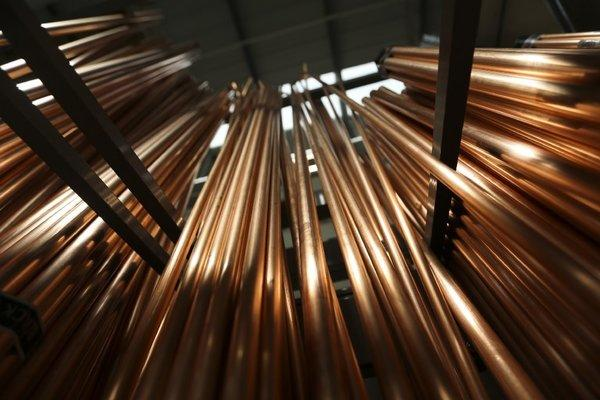 Copper, including trace amounts in water that passes through copper pipes like these, appears to cause a cascade of events that feeds the progression of Alzheimer's disease, a new study says.