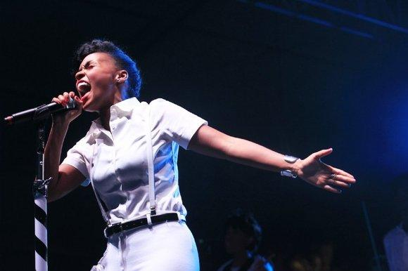 "Janelle Monae has a new single out, ""Primetime"""