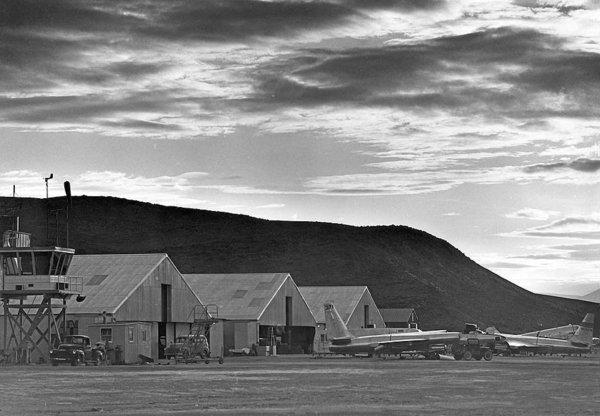 During the 1950s, the Area 51 base, originally named Watertown Airstrip, consisted of three small hangars, a control tower, dormitories, a warehouse and a few administrative buildings. It was meant to be a temporary facility until all of the U-2 spy planes were deployed to operational sites around the globe.
