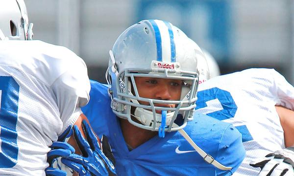The NCAA says defensive end Steven Rhodes can play this season for Middle Tennessee State.