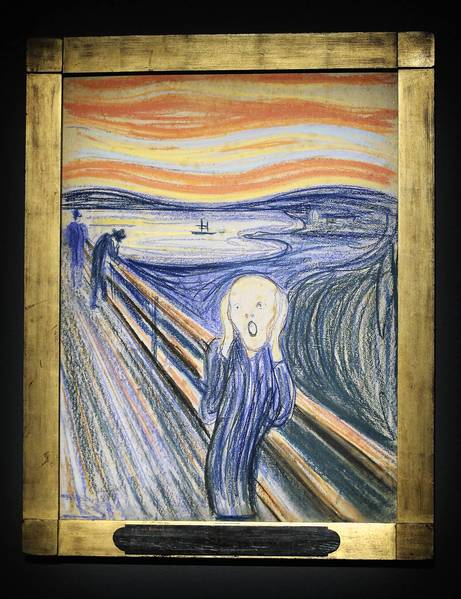 Loyal newspaper readers often take cues from Edvard Munch's subject in 'The Scream.'