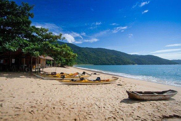 Costa Verde, a stretch of Brazil's coast west of Rio de Janeiro.