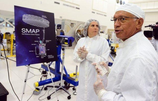 NASA Administrator Charles Bolden toured the space agency's Jet Propulsion Laboratories in La Canada-Flintridge earlier this month. California leads the U.S. in science and engineering employment.