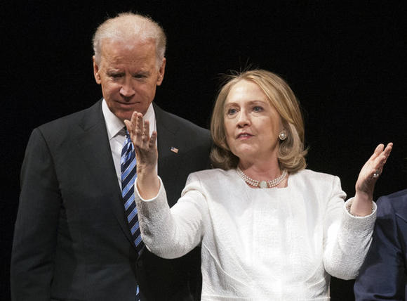 Hillary Rodham Clinton, Joe Biden