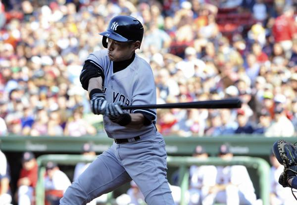 Yankees outfielder Ichiro Suzuki might not be the hitter he once was, but he's making a run at history.