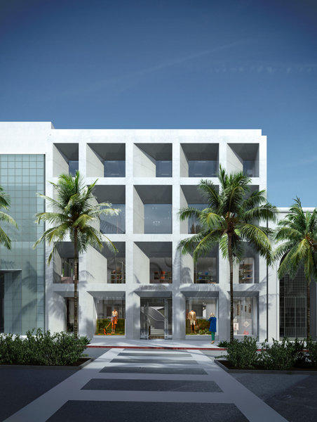 A rendering of the new Hermes Beverly Hills store set to open Sept. 4.