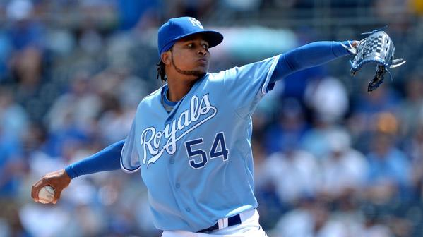 Ervin Santana will open the series for the Royals.