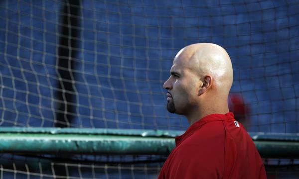 Angels slugger Albert Pujols will not play again this season because of an injured left foot.