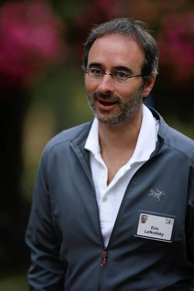 Eric Lefkofsky is the CEO of Groupon, which just launched a global ad platform to challenge rivals Google and Yahoo.