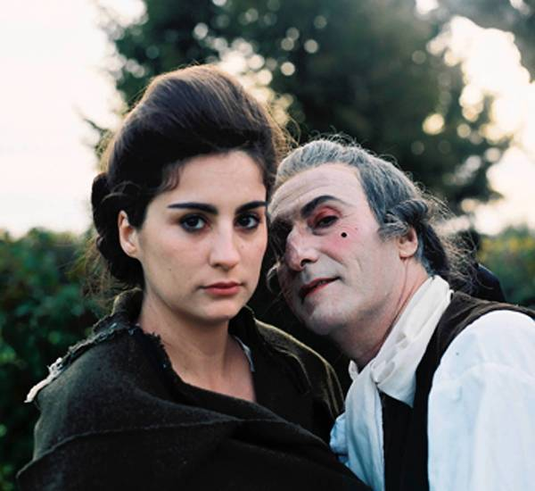 """Vicenc Altaio as Casanova and Claudia Robert in """"Story of My Death."""""""