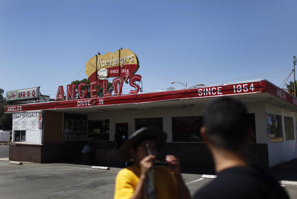 Angelo's Drive-In, a Fresno institution, is set to close as the state acquires land for the high-speed rail line.