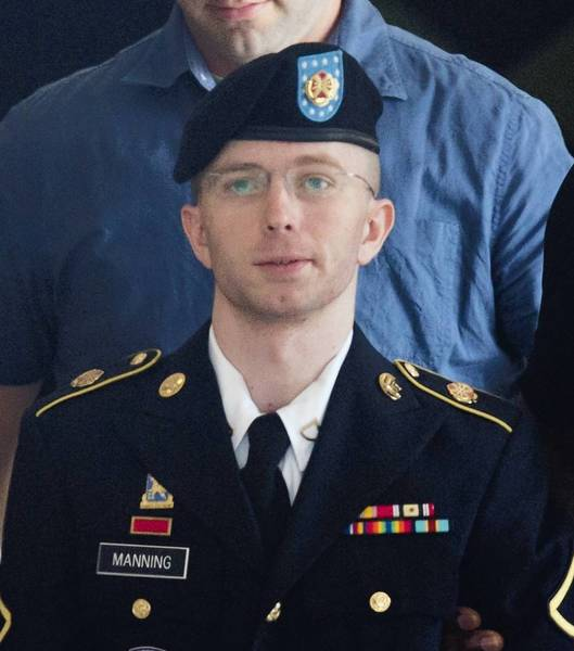 Army Pfc. Bradley Manning could face a maximum of 90 years in prison, with no possibility of parole for 30 years. The judge in his court-martial will begin considering the matter Tuesday.