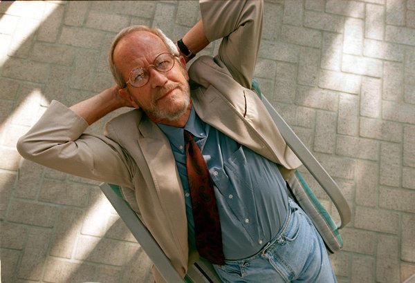Elmore Leonard in 1998.