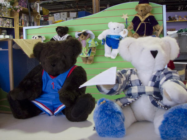 The Vermont Teddy Bear Company, Route 7 in Shelburne, Vt., is open every day except Easter, Thanksgiving, Christmas and New Year's.