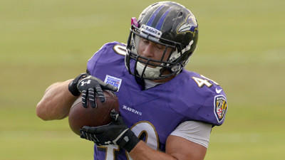 Kyle Juszczyk can do other things to help the Ravens