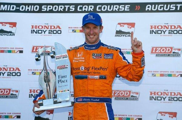 After his first IndyCar victory, Charlie Kimball is ready for Sonoma.