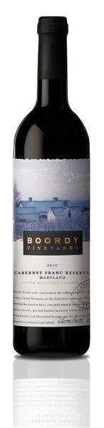 Boordy's Cabernet Franc Reserve. P