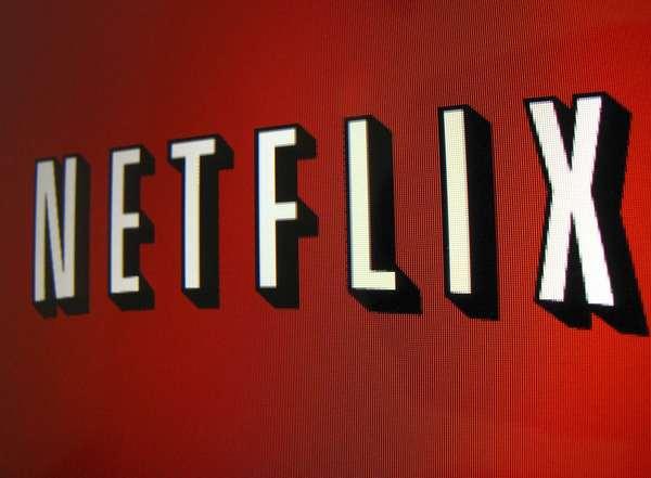The Netflix logo is shown on an iPad in Encinitas, California.