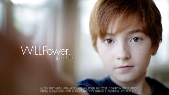 """Will Power,"" a film by Jon Abrahams, is a finalist in a national contest."