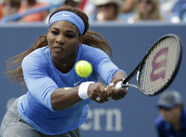 Serena Williams will be the top seed at the U.S. Open.