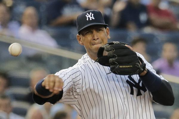 New York Yankee Alex Rodriguez.